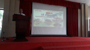 Lễ xuất cảnh 24 thợ xây dựng sang làm việc tại Rumani ngày 2/4/2017 tại công ty Việt Thắng