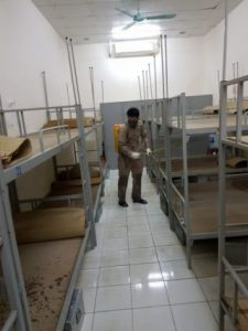 Tổ chức phun thuốc diệt muỗi phòng trừ dịch sốt xuất huyết