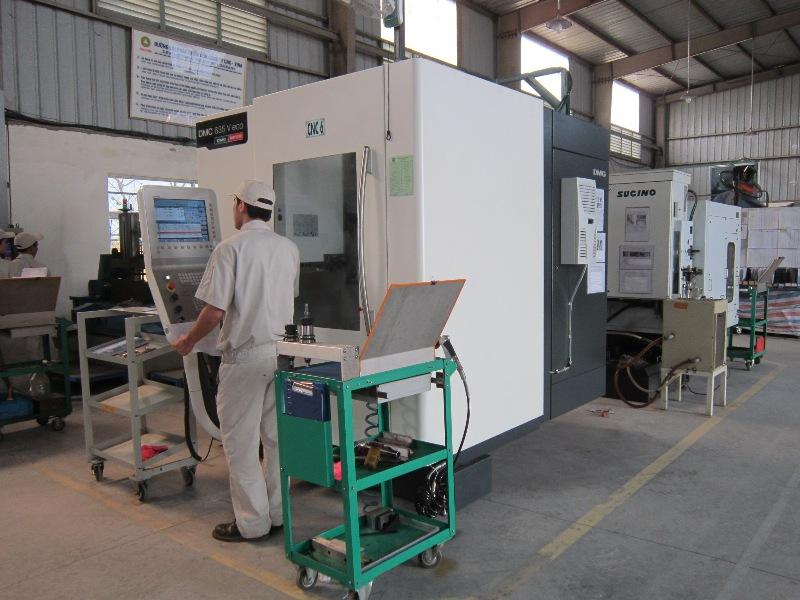 [Đài Loan] Tuyển 10 nam thao tác máy CNC